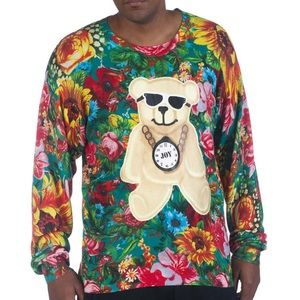 Joyrich Suriname Blossom Crew Thin Sweater Men's M